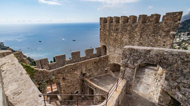 Roquebrune Cap Martin Panorama Chateau Grimaldi