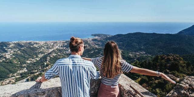 Sainte Agnes Panorama Mer