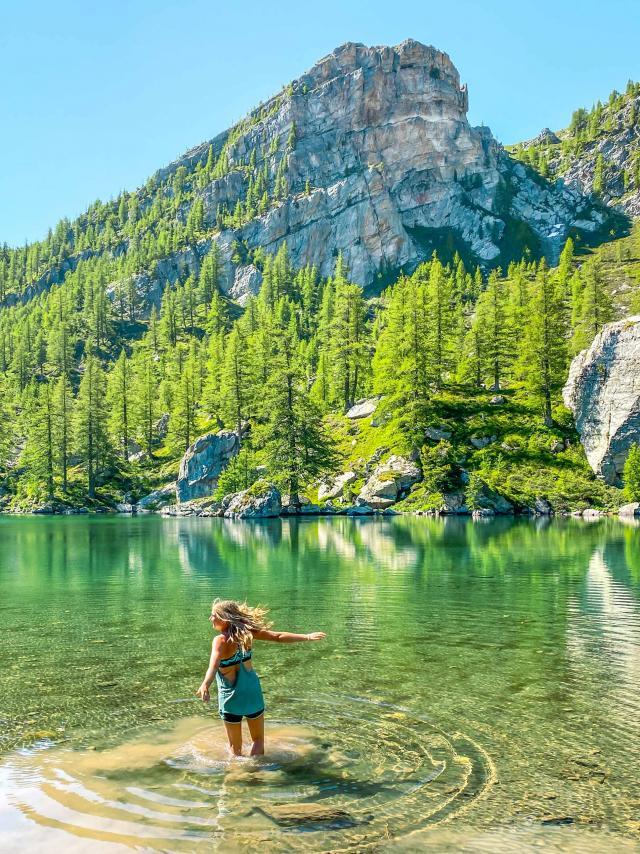 Parc National Du Mercantour Nature Lac
